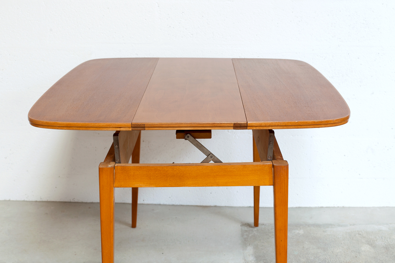 Table relevable scandinave for Table scandinave