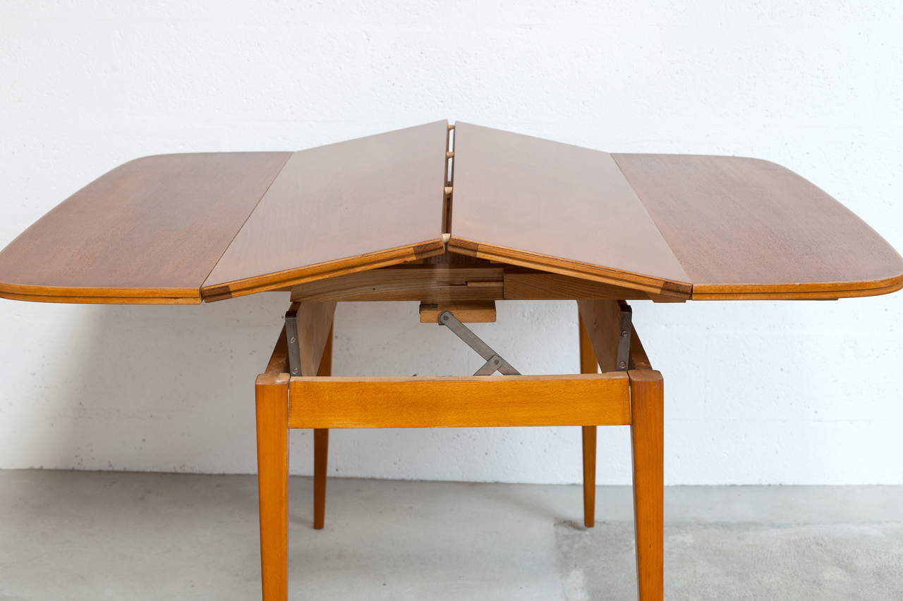 Ta 028 tack market - Table ronde transformable ...