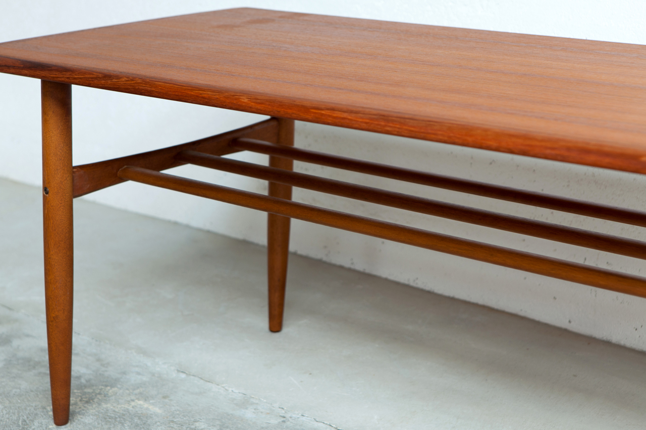 Teak pedestal dining table images decorating ideas house design and table wi - Console vintage scandinave ...
