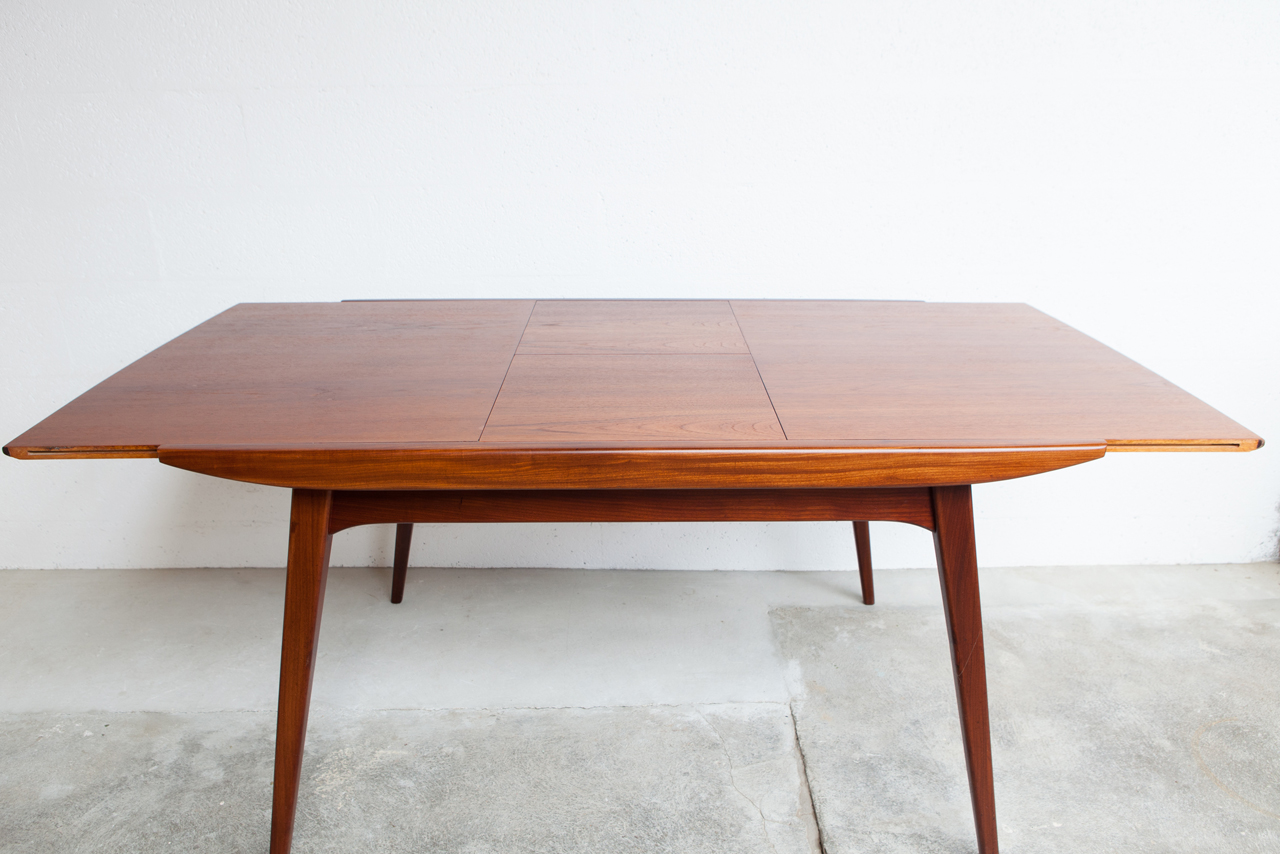 Table rallonge papillon for Table rallonge scandinave