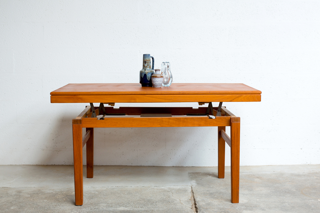 Table basse transformable en table haute maison design for Table haute design scandinave
